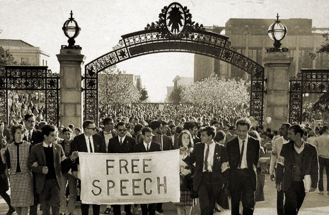 The Free Speech Movement and Competing Visions of the University's Role in Society
